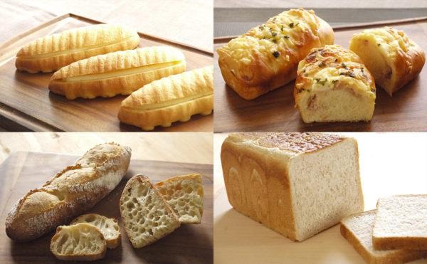 パン理論 基礎コースで作るパンの一例