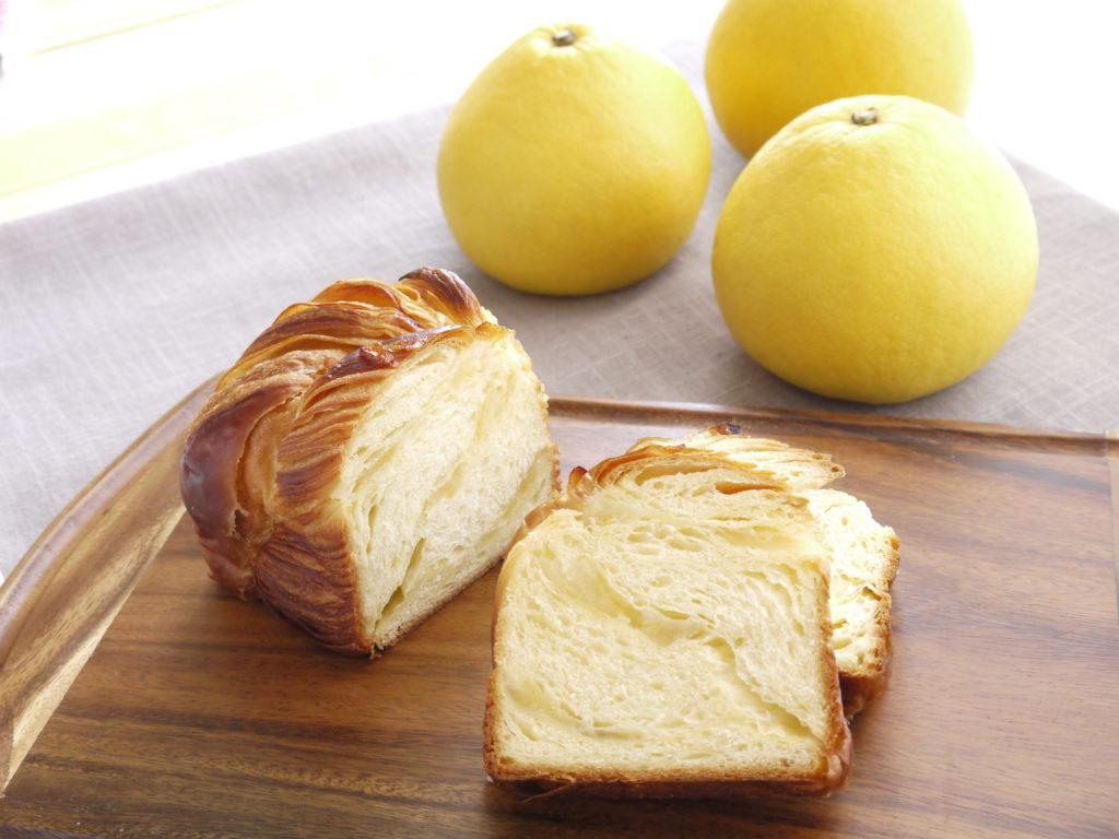 文旦のデニッシュ食パン