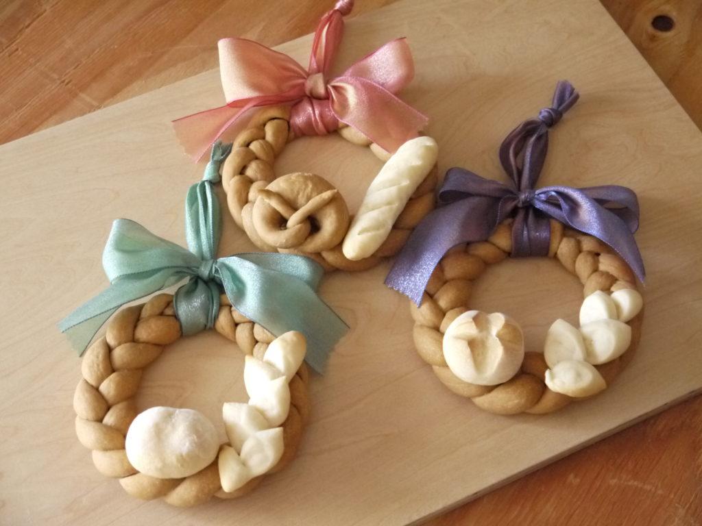 飾りパン~クリスマスリース~