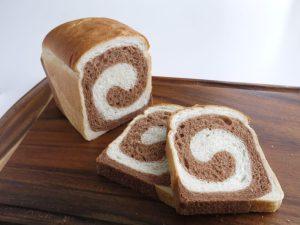 応用コースホイロうずまき食パン